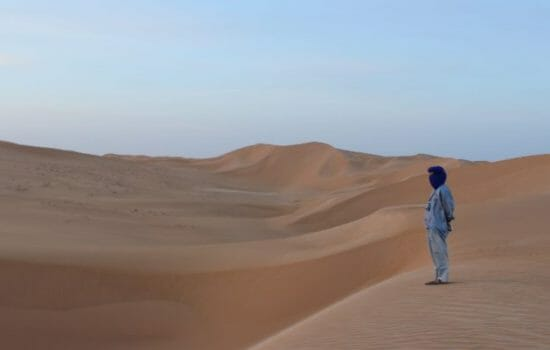 Warming Climate Increases the Spreading of the Sahara