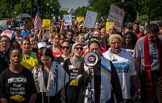 'Poverty Is Violence': First Day of Action of the Poor People's Campaign (Audio Photo Essay)
