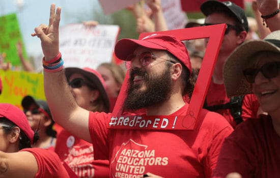 20,000 North Carolina Teachers Walk Out, Demanding More Resources and Better Pay