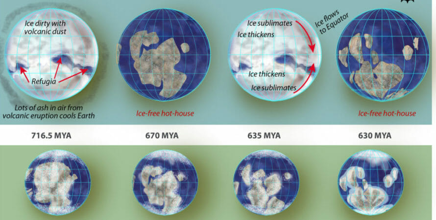 Shifts in Earth's Crust Link to Climate Change