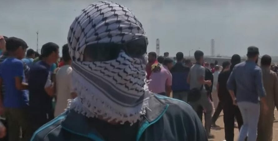 Palestinian Protesters Willing to Die for Human Rights (Video)