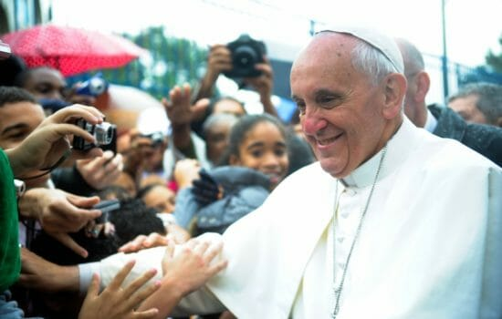 Pope to Gay Man: 'God Made You Like This. God Loves You Like This.'