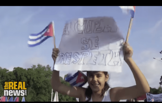 May Day in Cuba: 'You've Got Strikes and Repression, but Here It's a Party'