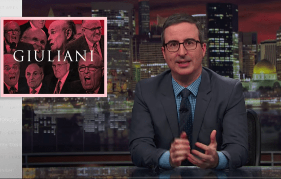 John Oliver Reminds Americans Who Rudy Giuliani Has Always Been (Video)