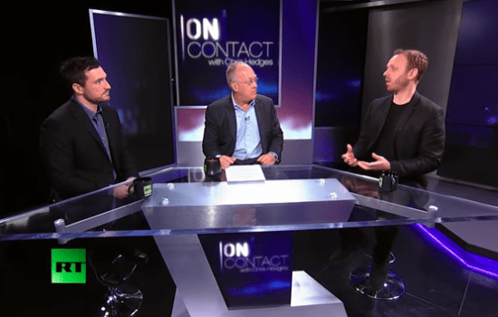 Chris Hedges: 'Killing Gaza' with Max Blumenthal and Dan Cohen