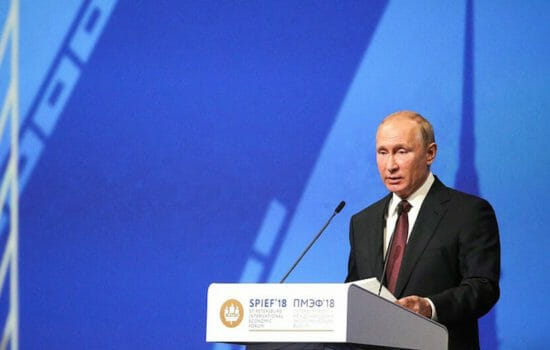 Putin's Big Economic Conference Is a Big Deal This Year