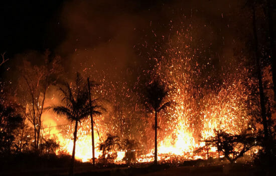 Hawaii Volcano Destroys 21 Homes; 1,700 People Evacuated