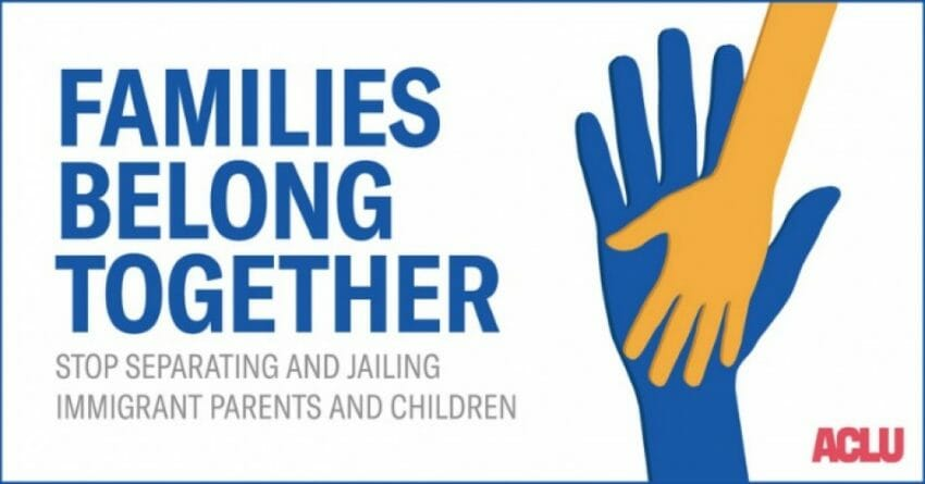 Image result for separating families at the border aclu