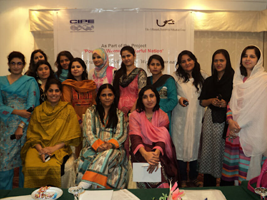 Using the Media to Empower Pakistani Women