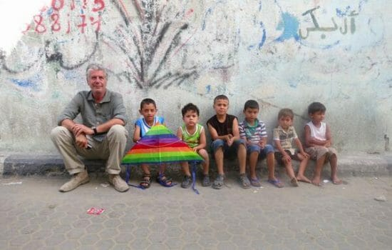 Anthony Bourdain: The Only Mensch on Gaza