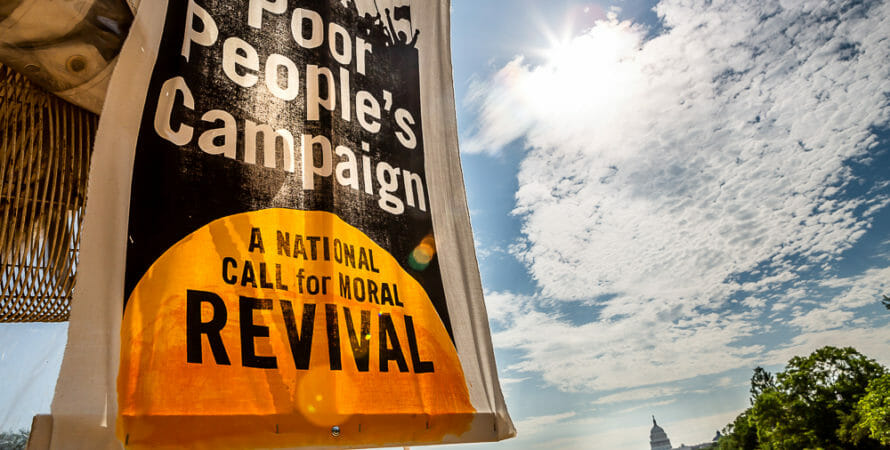 Poor People's Campaign Protests Against Mistreatment of Immigrants (Live Blog)
