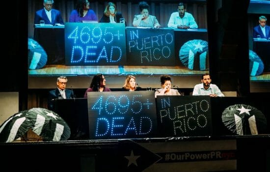 Activists in New York Rally as Disaster Capitalists Circle Puerto Rico (Photo Essay)
