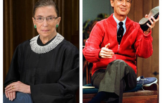 Justice Ginsburg and Mr. Rogers: Antidotes to Trumpism