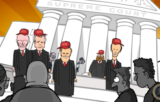 The Supreme Court Gets Trumpier (Video)