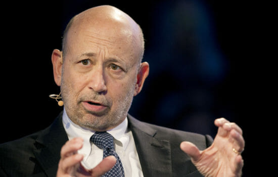 Goldman Sachs' Profits Up 44 Percent; CEO Blankfein to Retire