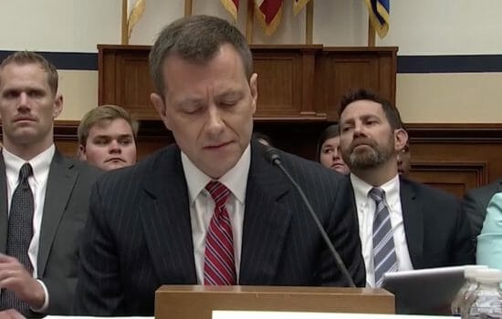 Strzok Hoisted With His Own Petard