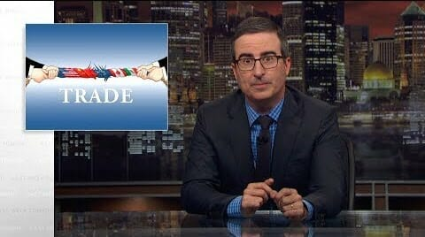 John Oliver: Trump Understands Almost Nothing About Trade (Video)