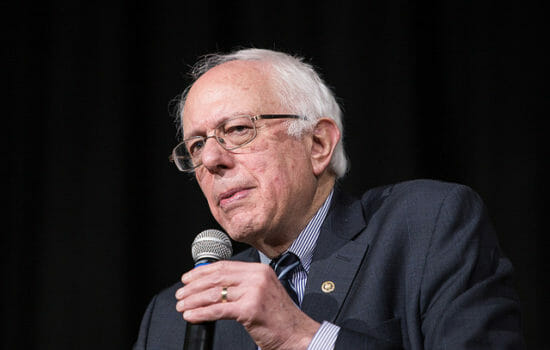 Bernie Sanders Ramps Up Crusade Against Jeff Bezos