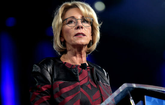 Betsy DeVos' Latest Proposal on Guns Is Almost Beyond Belief