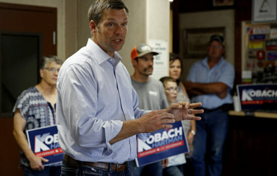 Kobach Recuses Himself From Kansas Vote Count Amid Public Pressure
