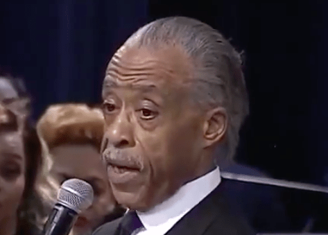 Al Sharpton Lets Trump Have It at Aretha Franklin's Funeral