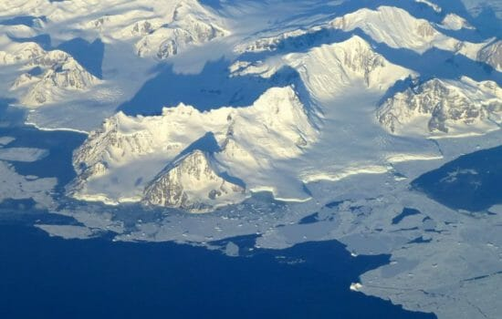 Rising Rocks in West Antarctica May Slow Ice Melt