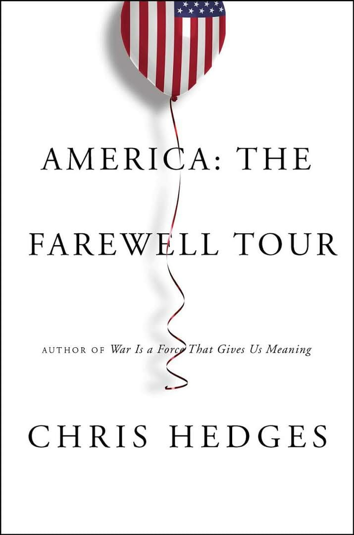 New York Post Names 'America: The Farewell Tour' as Must-Read Book