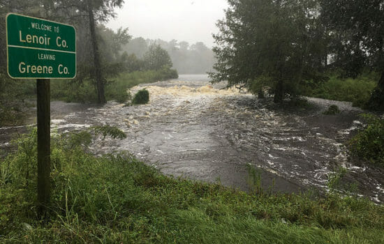 Rivers Swell as Florence Drenches Carolinas