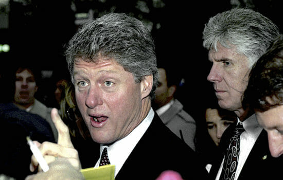 How Bill Clinton Paved the Way for Trump's War on Immigrants
