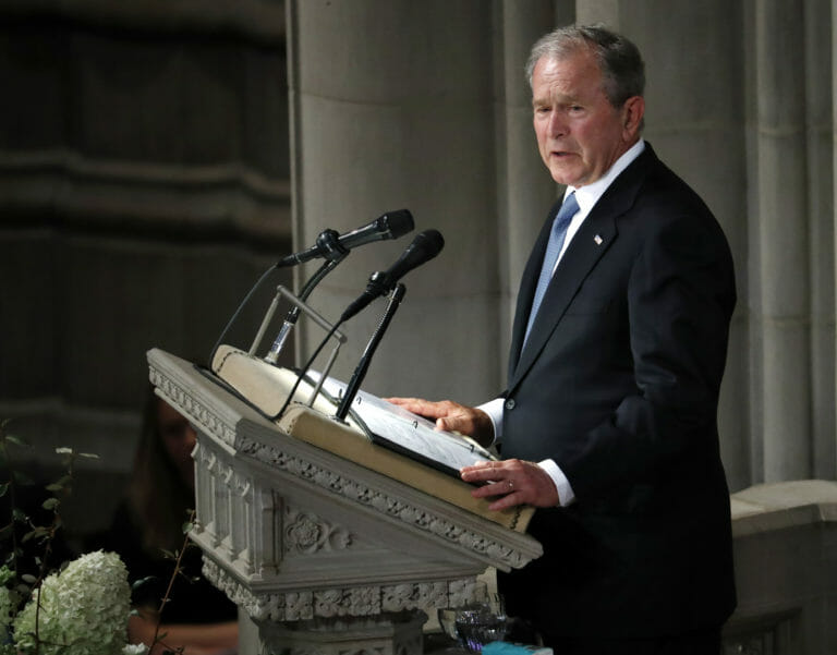 The Liberal Rehabilitation of George W. Bush Is Complete