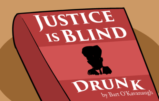 Justice Is Blind Drunk (Video)