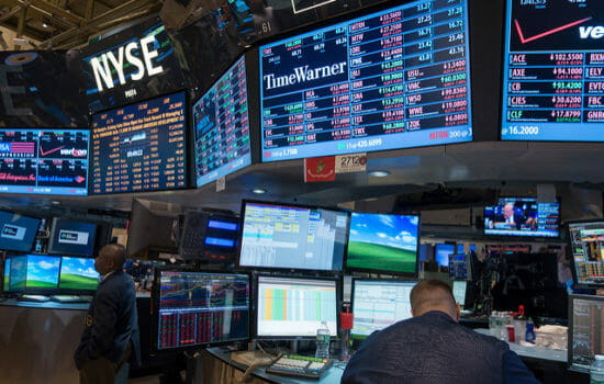 Stocks Rebound, Clawing Back Some of Week's Steep Losses