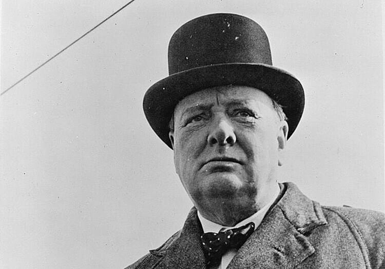 Winston Churchill's Perverse Place in the American Imagination