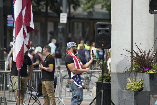 As Far-Right Groups Incite Violence on Both Coasts, Officials Struggle to Respond