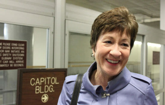 Funding Platform to Unseat Susan Collins in 2020 Crashes From Traffic Surge