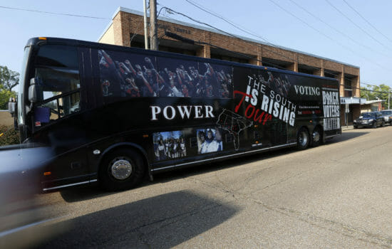 Georgia Officials Order Black Seniors Off Bus Headed for Early Voting