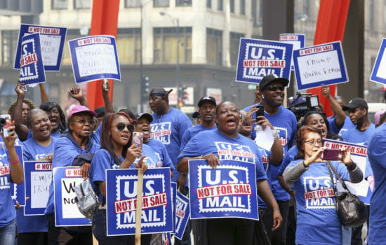 Postal Workers Unite Nationwide Against Trump's Privatization Plan