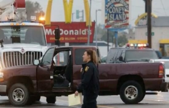 Truck Hits 'Fight for 15' Protesters in Flint