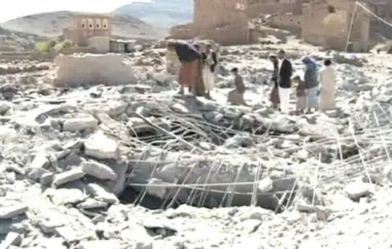 U.S. Facilitates Saudi War Crimes in Yemen
