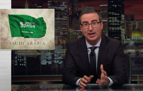 John Oliver on Our Presidents' Troubling Ties to Saudi Arabia (Video)