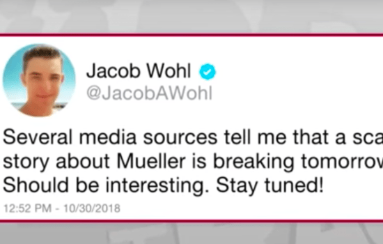 Jacob Wohl Made These 5 Mistakes in Allegedly Framing Robert Mueller