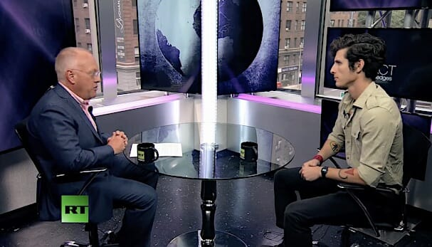 Spenser Rapone Tells Chris Hedges How He Escaped the Army's 'Cult of Death'