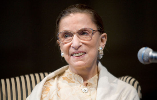 Ruth Bader Ginsburg, 85, Hospitalized After Taking Fall