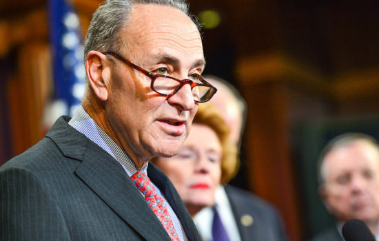 Chuck Schumer Ignites Calls for Ouster as Senate Minority Leader