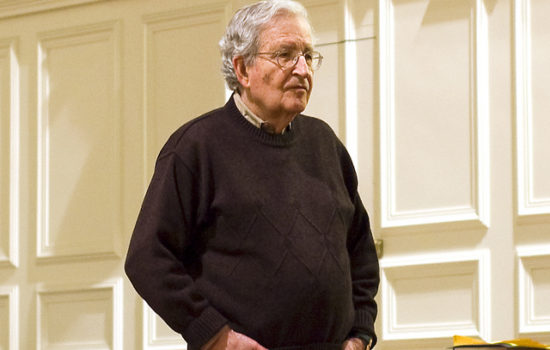Noam Chomsky: Trump and His Enablers Are 'Criminally Insane'