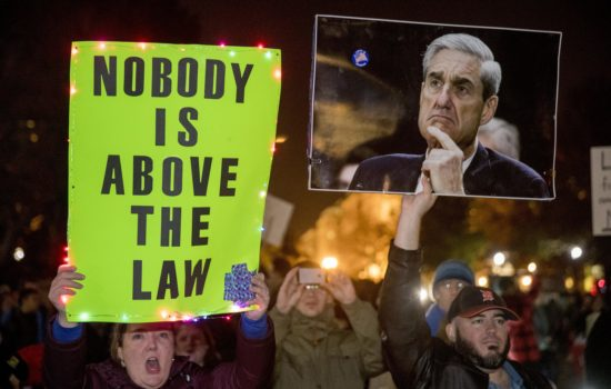 Hundreds of Thousands Protest Trump's Interference in Mueller Probe