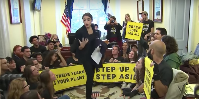 Support Grows For A 'Green New Deal' To Address Climate