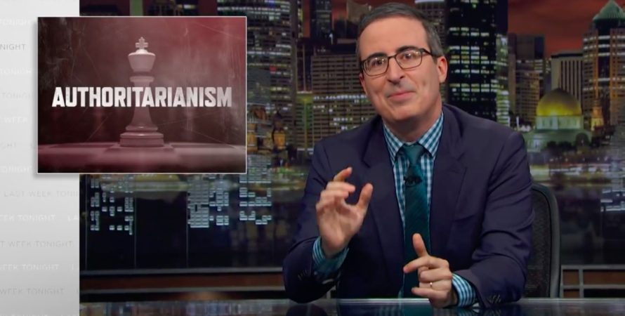 John Oliver Dissects the Alarming Rise of Global Authoritarianism (Video)