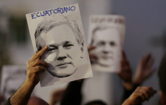U.K. and Ecuador Conspire to Deliver Julian Assange to U.S. Authorities