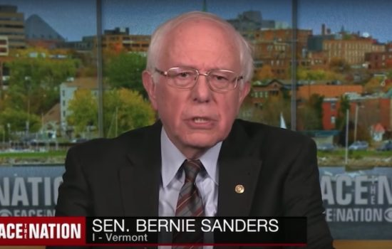 Bernie Sanders: The U.S. Needs to Be Aggressive Toward the Fossil Fuel Industry